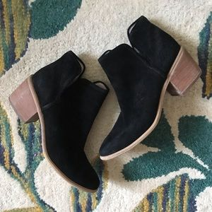 BP ankle suede boots